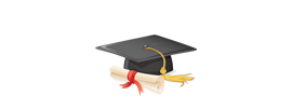 Cap and Diploma Icon