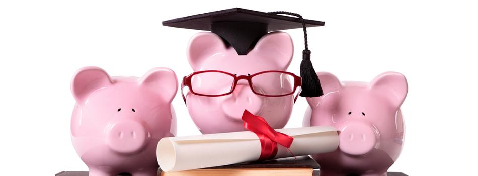 graduate piggy banks
