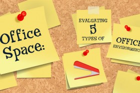 Office Space: Evaluating 5 Types of Office Environments