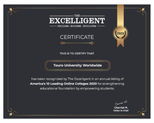 Excelligent Certificate