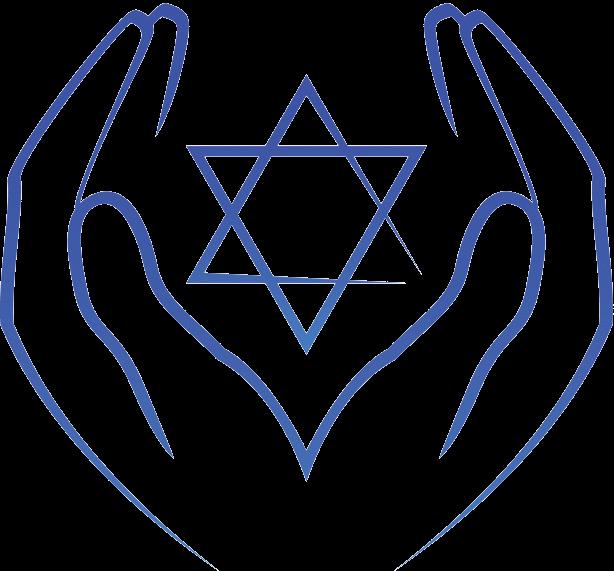 Hands Holding Star of David