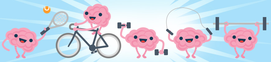 Brains working out - image