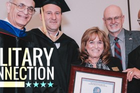 "Military Connection Presents ""Veteran School Salute"" to Touro University Worldwide"